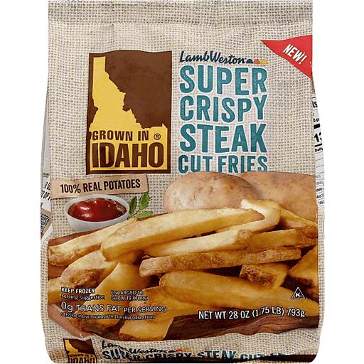 Lamb Weston Steak Cut Fries, Super Crispy