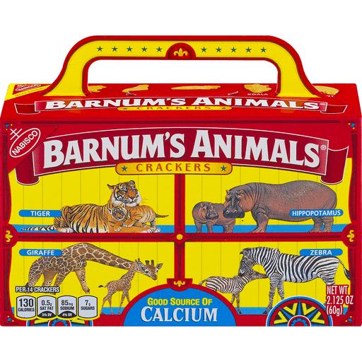 Nabisco Barnum S Animals Crackers 2 13 Oz Box Animal Chief Markets