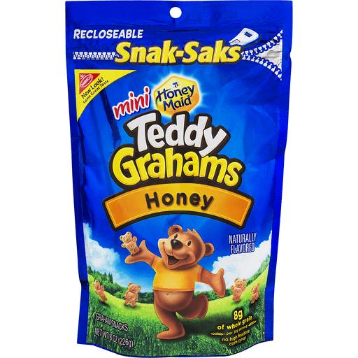 Nabisco Teddy Grahams Mini Honey Maid Graham Snacks Honey