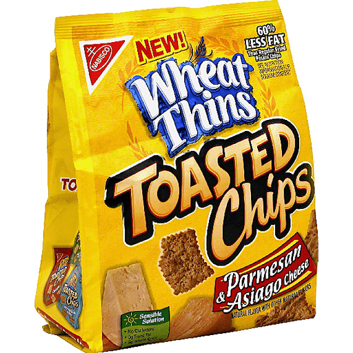 Wheat Thins Toasted Chips Parmesan Asiago Cheese Shop Price Cutter