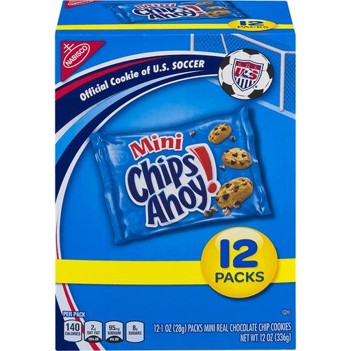 Nabisco Mini Chips Ahoy! Cookies - 12 PK