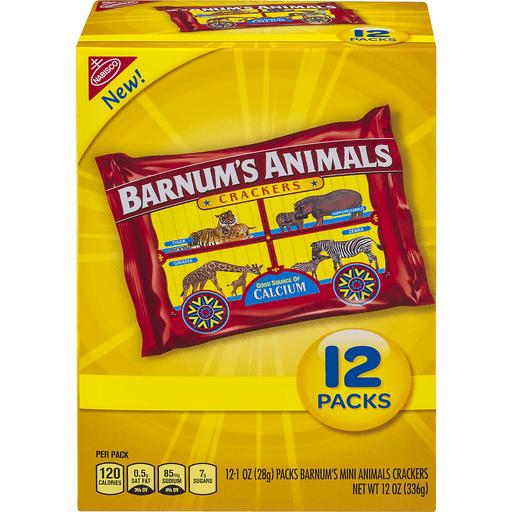 Barnums Crackers, Animal, Mini