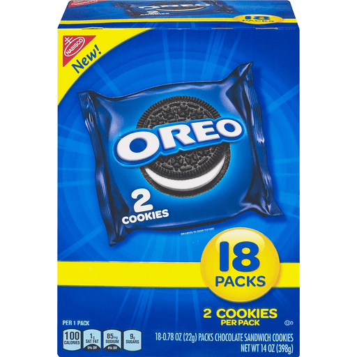 Nabisco Oreo Cookies - 18 CT