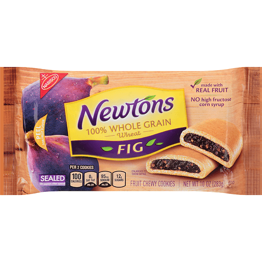 Newtons Cookies, Fruit Chewy, Fig