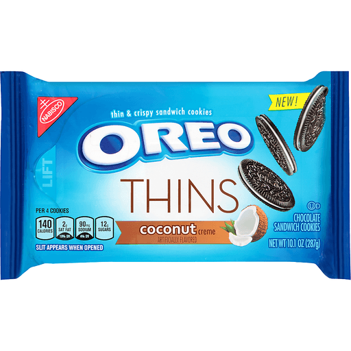 Oreo Thins Sandwich Cookies Coconut