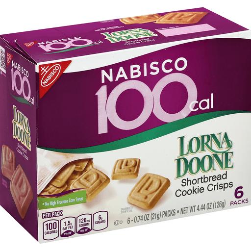Lorna Doone 100 Cal Shortbread Cookie Crisps