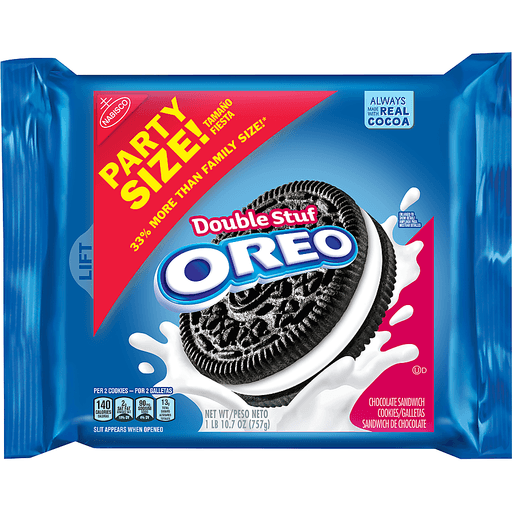 Oreo Cookies, Sandwich, Chocolate, Double Stuf, Party Size!