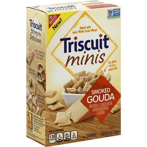 Triscuit Crackers, Minis, Smoked Gouda