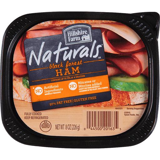 Hillshire Farm Naturals Lunchmeat Black Forest Ham 8 Oz Ham D Agostino