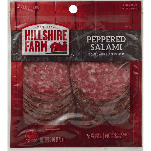 Hillshire Farm Salami Peppered Salami Pepperoni Frick S Market