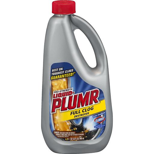Liquid Plumr Clog Destroyer, Full, Pro-Strength