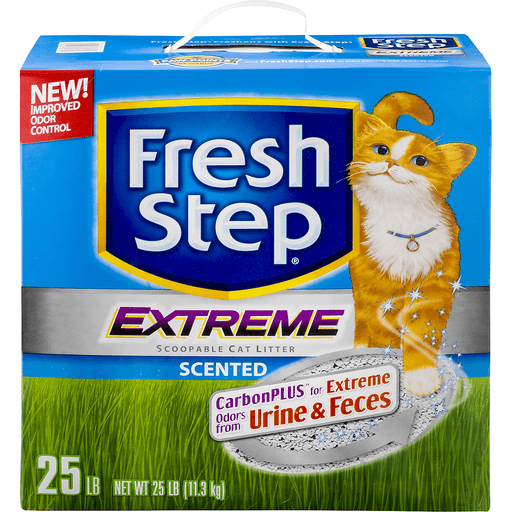 Fresh Step Cat Litter, Scoopable, Extreme, Scented