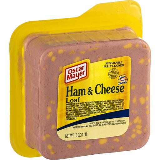 Oscar Mayer Ham & Cheese, Loaf