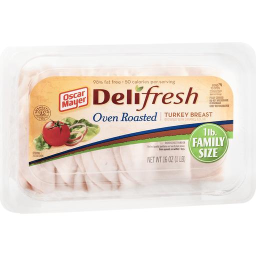Oscar Mayer Deli Fresh Oven Roasted Turkey Breast