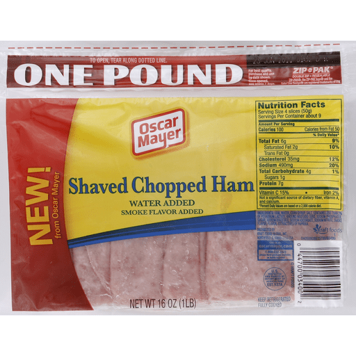 Oscar Mayer Ham, Shaved Chopped