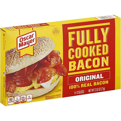 Oscar Mayer Fully Cooked Bacon   Buehler's