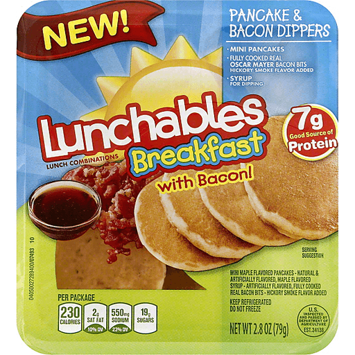 Lunchables Breakfast with Bacon!