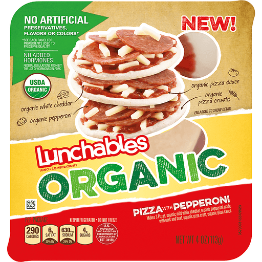 Lunchables Organic Lunch Combinations