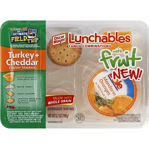 Oscar Mayer Lunchables Turkey+Cheddar