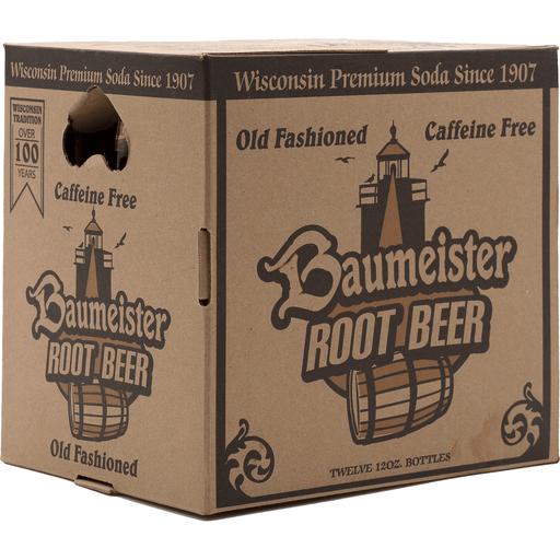 Baumeister Root Beer 12 Pk