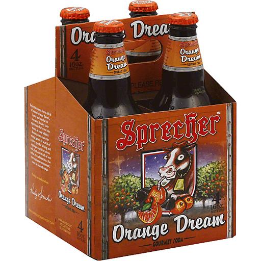 Sprecher Soda, Orange Dream