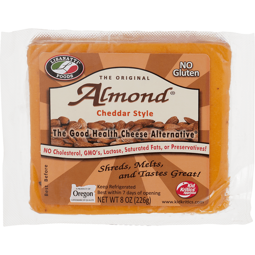 00045296191018 - Lisanatti Cheddar Cheese Almond Chunk