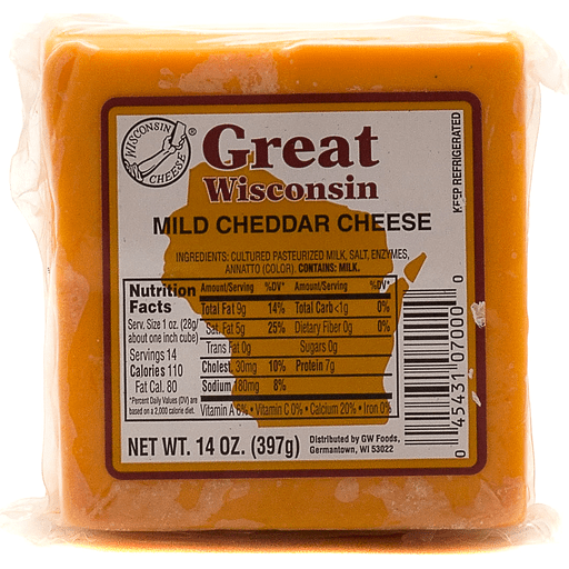 Great Wisconsin Mild Cheese