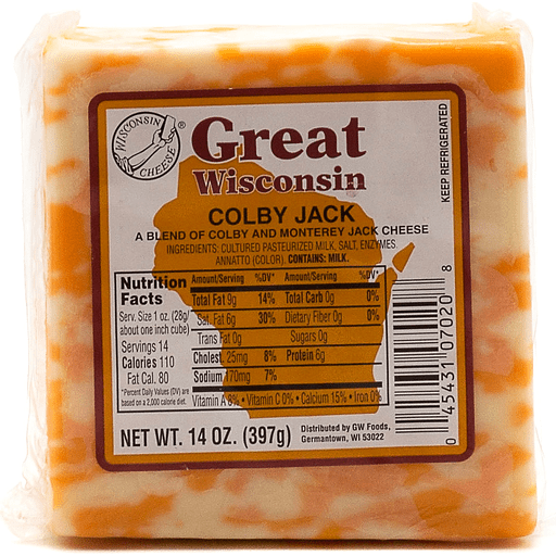 Great Wisconsin Colby Jack