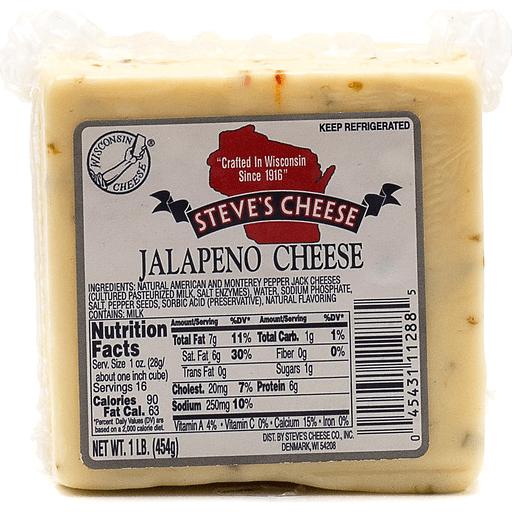 Steve's Jalapeno Cheese