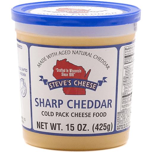 Steve's Sharp Cheddar Cold Pack