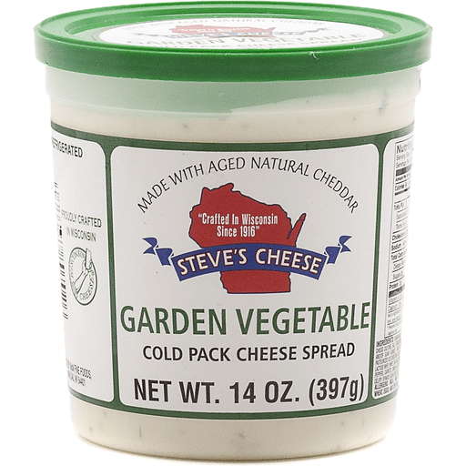 Steve's Garden Vegetable Spread