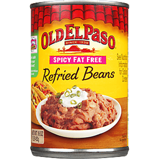 Old El Paso™ Spicy Fat Free Refried Beans 16 oz. Can