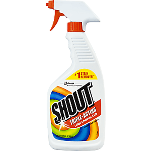Shout Laundry Stain Remover, Triple-Acting