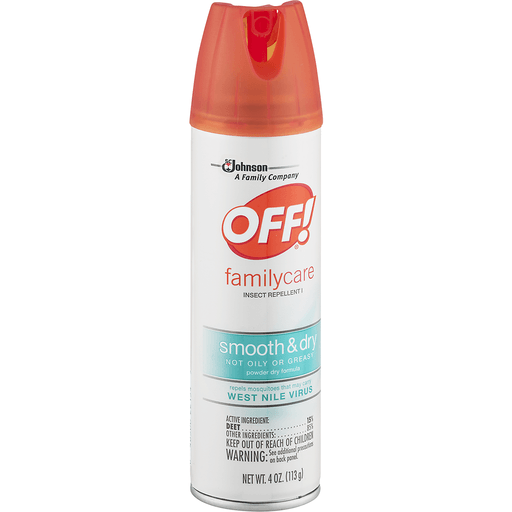 Off FamilyCare Insect Repellent I, Smooth & Dry, Powder Dry Formula