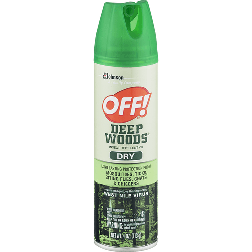 00046500717642 - Off Deep Woods Insect Repellent VIII, Dry