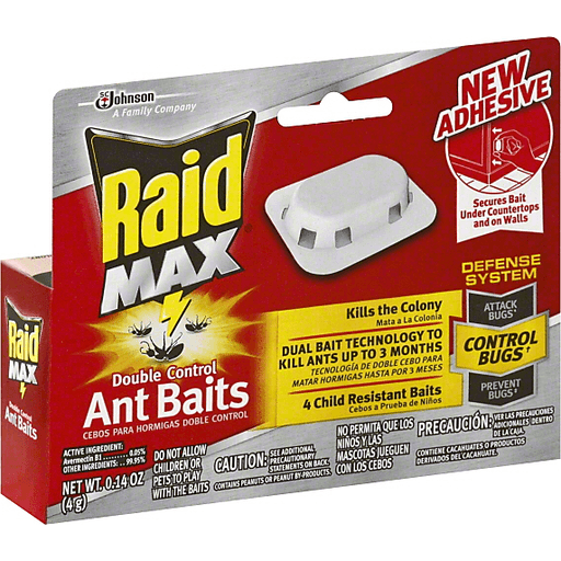 Raid Max Ants Baits Double Control Shop Price Cutter