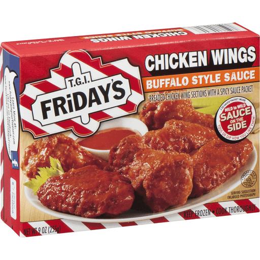 TGI Fridays Chicken Wings Buffalo Style