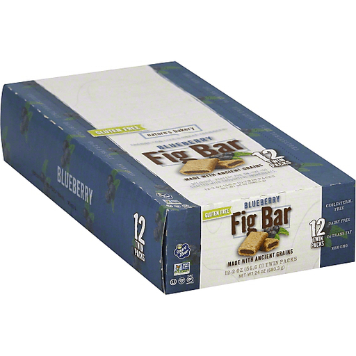 Natures Bakery Fig Bar, Gluten Free, Blueberry, 12 Twin ...