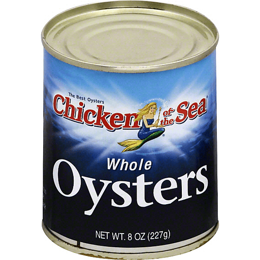 Chicken Of The Sea Oysters Whole Canned Tuna Seafood Martin S Super Markets