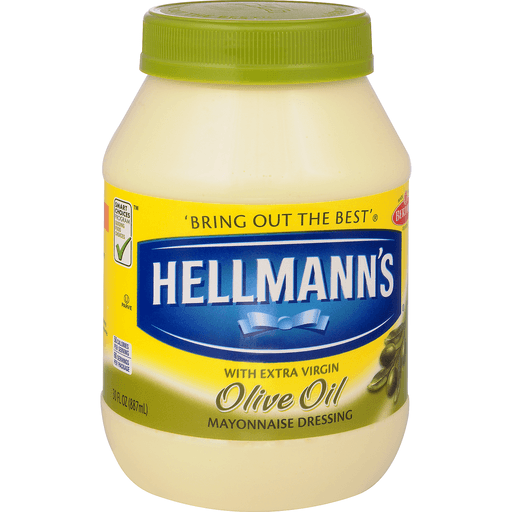 Hellmanns Mayonnaise Dressing, with Olive Oil