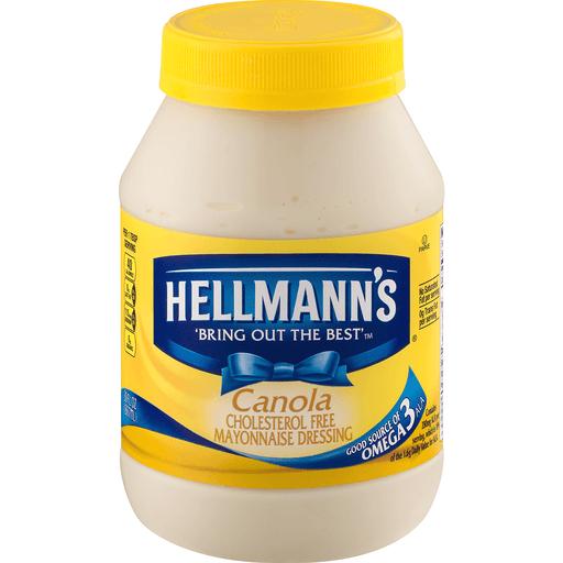Hellmanns Mayonnaise, Canola