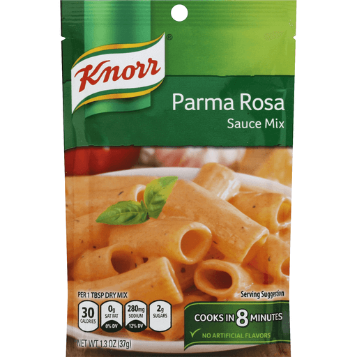 Knorr Parma Rosa Sauce Mix, 1.3 Oz   Shop   Foodland Super ...