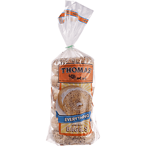 Thomas Bagels, Everything, Pre-Sliced