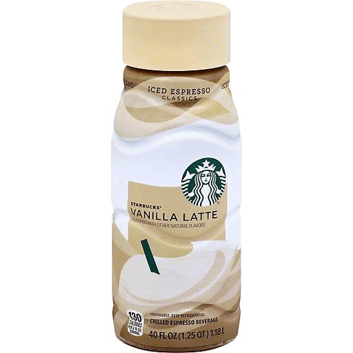 Starbucks Vanilla Latte Chilled Espresso Beverage Dagostino