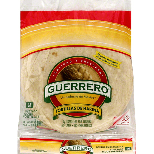 Guerrero Tortillas Flour Soft Taco Tortillas Pitas Wraps Goodwin Sons