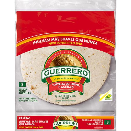 Guerrero Burrito Flour Tortillas - 8 CT