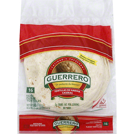 Guerrero Tortillas Flour Fajita Meat Edwards Food Giant