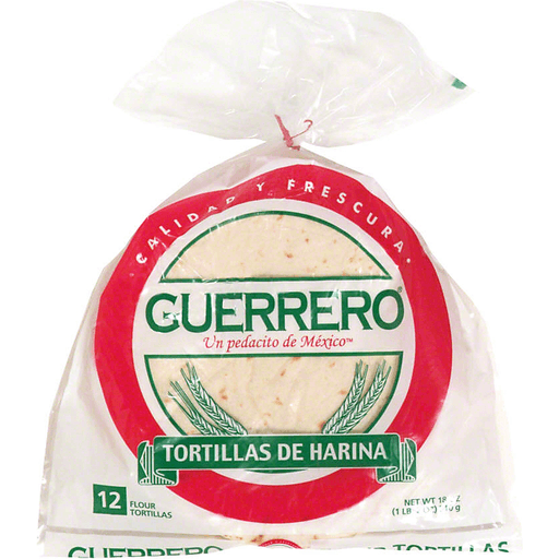 Guerrero Flour Tortillas Meat Edwards Food Giant