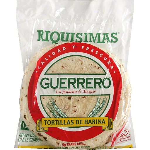Guerrero Flour Tortillas Shop Dicus Supermarket