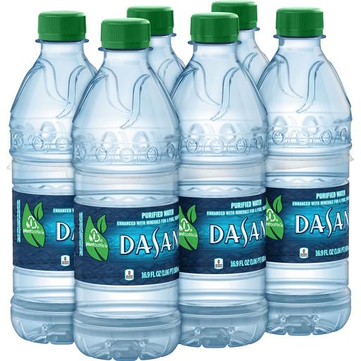 DASANI Purified Water Bottles, 16.9 fl